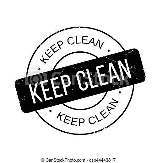 tampon, propre, garder - csp44443817