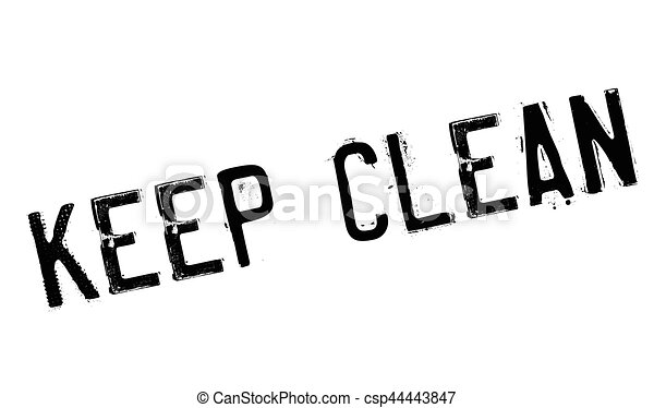 tampon, propre, garder - csp44443847