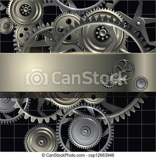 technologie, fond - csp12663946