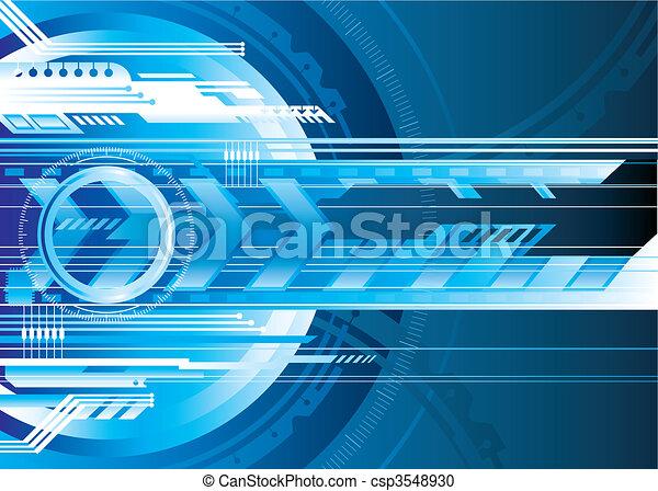 technologie, numérique - csp3548930