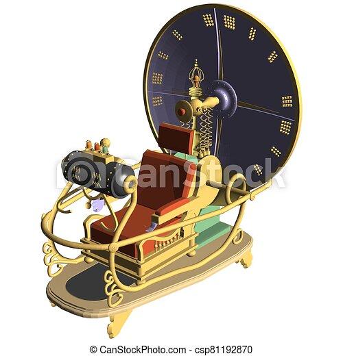 temps, 07.eps, machine, vecteur - csp81192870