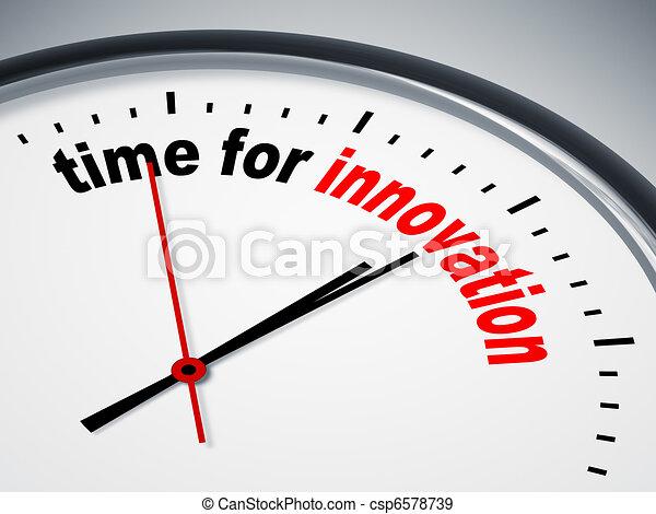 temps, innovation - csp6578739