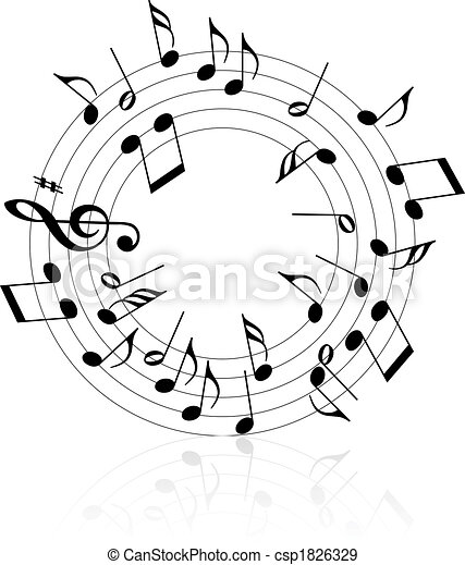 thème, musique - csp1826329