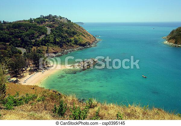 thaïlande, plage - csp0395145