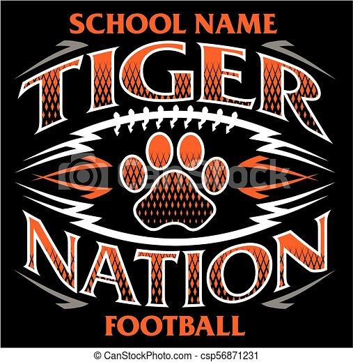 tigre, nation, football - csp56871231