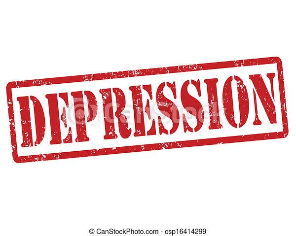 timbre, dépression - csp16414299