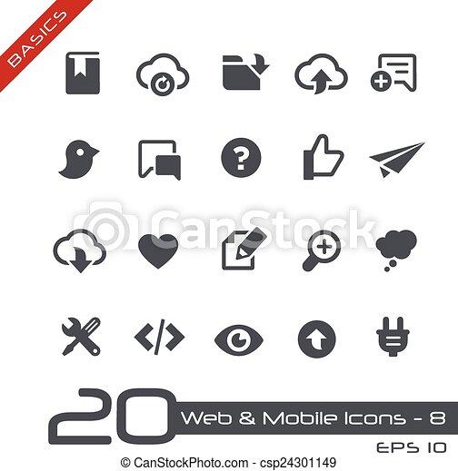 //, toile, élémentsessentiels, &, mobile, icons-8 - csp24301149
