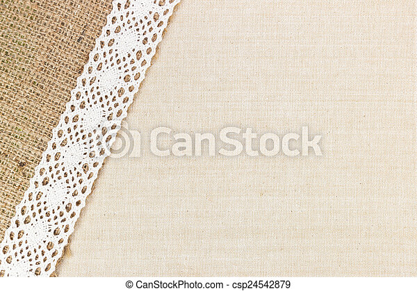 toile, texture - csp24542879