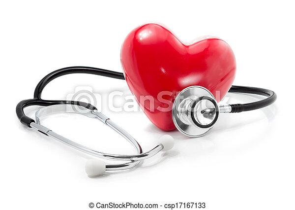 ton, heart:, écouter, services médicaux - csp17167133