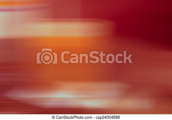 tonalité, résumé, mouvement, fond, barbouillage, orange, rouges - csp24004898