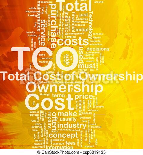 total, concept, cout, fond, propriété - csp6819135