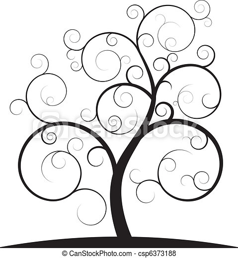 tourbillon, arbre - csp6373188