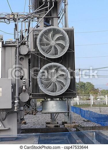 transformateur, ventilateur, puissance - csp47533644