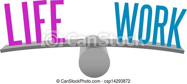 travail, équilibre, vie, décision, choix - csp14293872