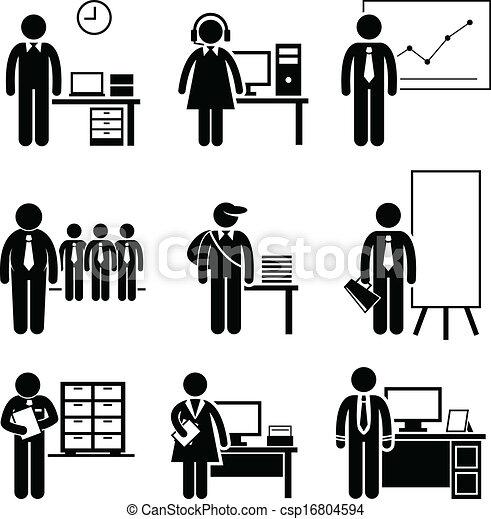travaux, bureau, carrières, métiers - csp16804594