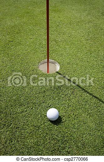 trou, golf - csp2770066