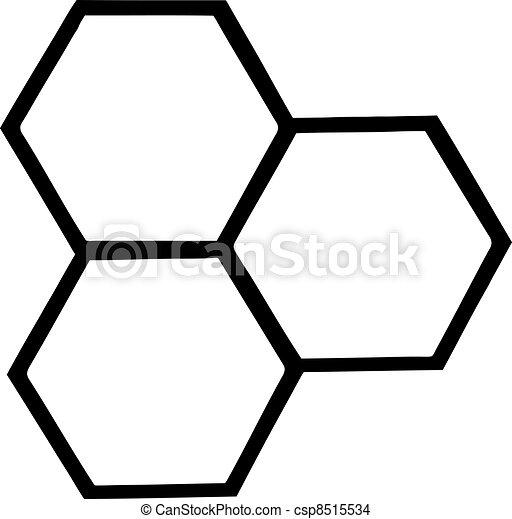 urticaire, esquissé, abeille - csp8515534