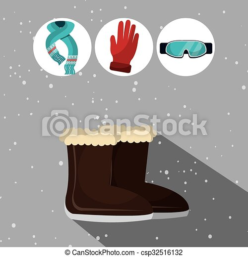 usure, hiver, mode, accesories - csp32516132