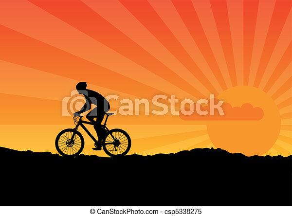 vélo - csp5338275