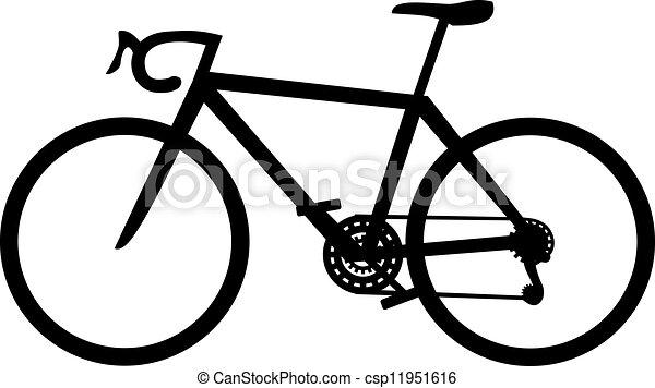 vélo courir - csp11951616