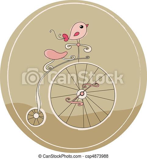 vélo, retro - csp4873988