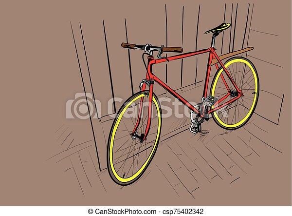 vélo - csp75402342