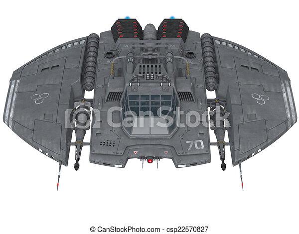 vaisseau spatial - csp22570827
