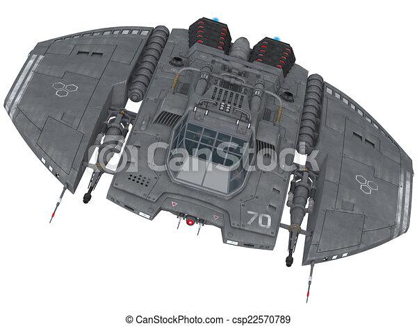 vaisseau spatial - csp22570789