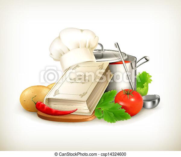 vecteur, cuisine, illustration - csp14324600