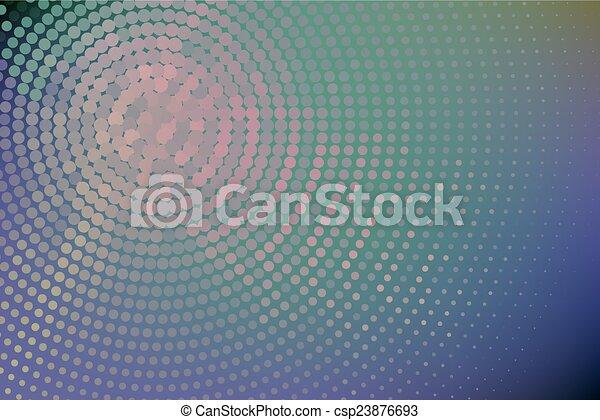 vecteur, diapo, rose, point - csp23876693