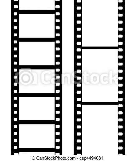 vecteur, film appareil-photo - csp4494081