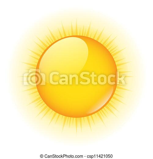 vecteur, soleil - csp11421050