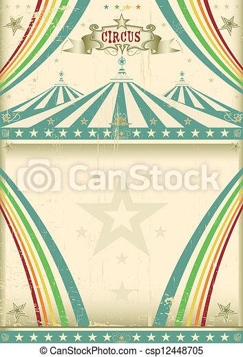 vendange, cirque, fond - csp12448705