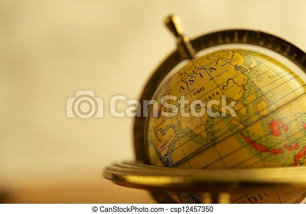 vendange, gros plan, globe - csp12457350