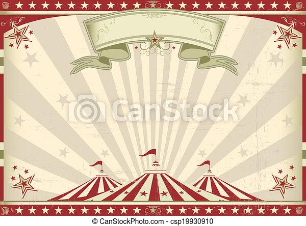 vendange, horizontal, cirque - csp19930910