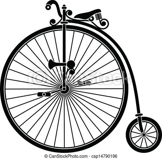 vendange, vélo - csp14790196