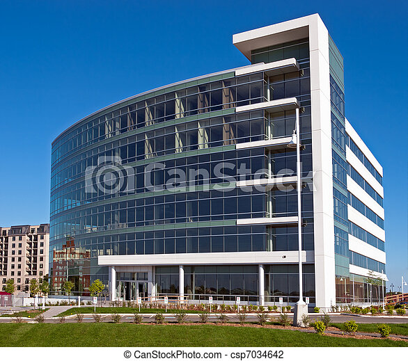 verre, bureaux - csp7034642