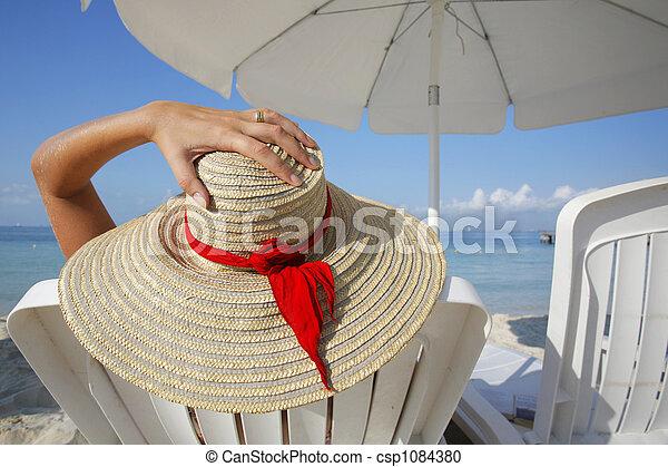 vie, plage - csp1084380