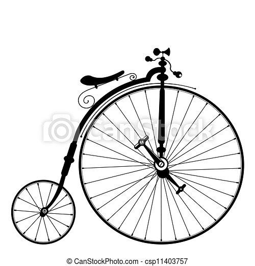 vieille bicyclette - csp11403757