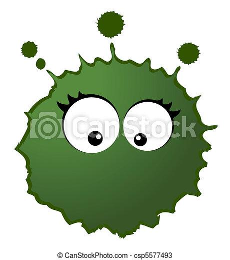 virus, vecteur, germes - csp5577493