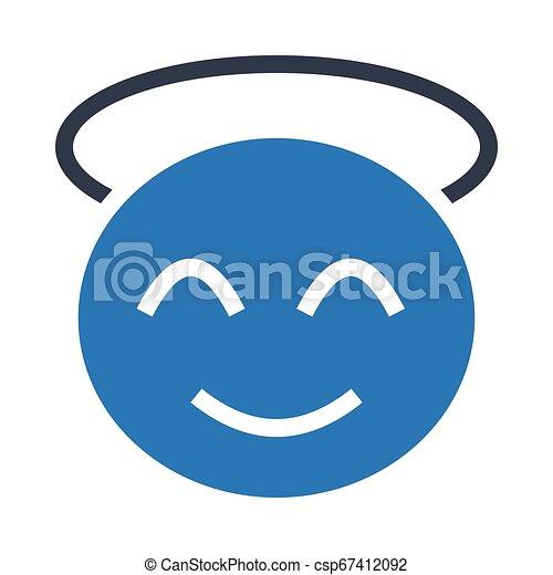 visage heureux - csp67412092