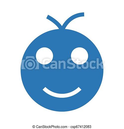 visage heureux - csp67412083