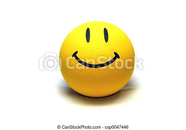 visage smiley - csp0047446