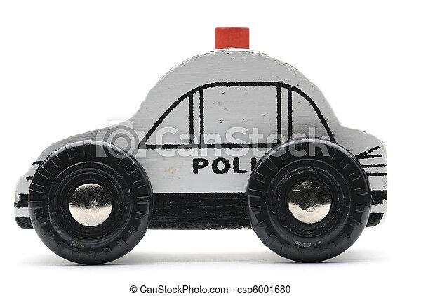 voiture, jouet, pilice - csp6001680