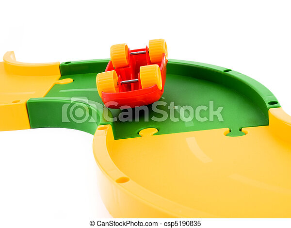 voiture, jouet, rouges - csp5190835