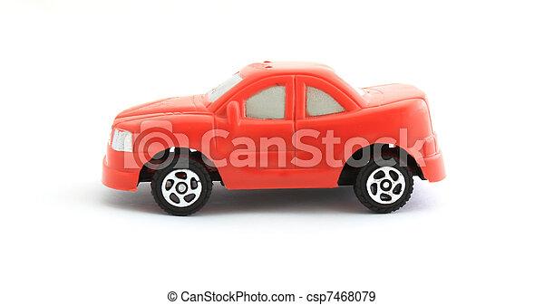 voiture jouet, rouges - csp7468079