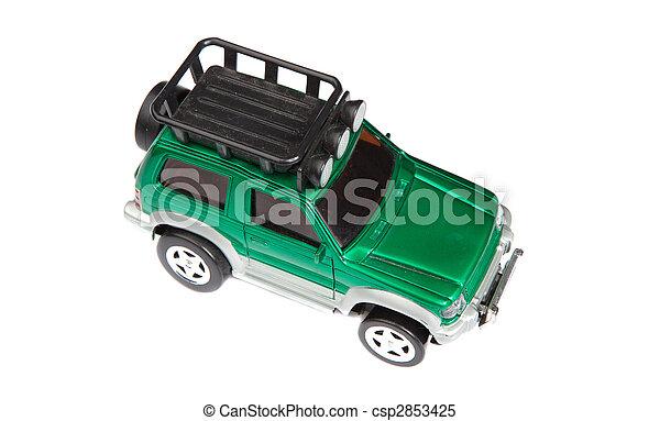 voiture jouet, vert - csp2853425