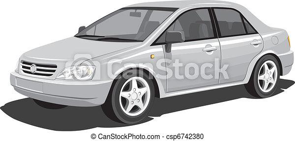 voiture, moderne - csp6742380