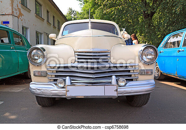 voiture, retro - csp6758698