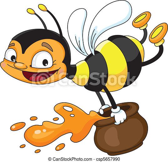 voler, abeille - csp5657990